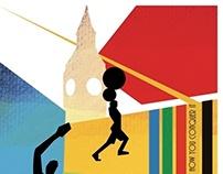 Illustrazioni per olimpiadi | London 2012