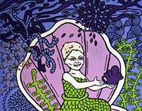 mermaid mom