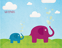 -Two Elephants-