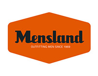 Mensland - Retail Apparel rebrand