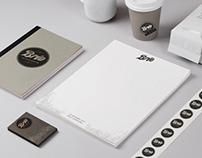 Brio Café identity