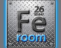 """Logo for the gym """"FEroom"""" (Kiev)"""