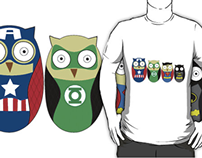 Superhero Owls