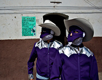 Huehues: carnaval y máscara