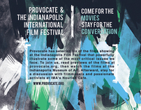 Provocate & Indy Film Fest Poster