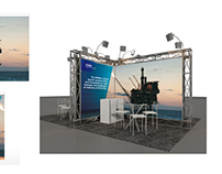 Estande Oil and Gas da KPMG
