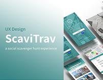 UX Case Study: ScaviTrav
