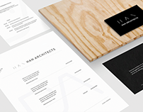 Han Architects Logo & Web Design
