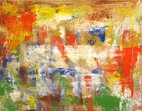 Homage to Gerhard Richter by Kevin Geary