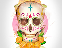 Cartel Expo Día de Muertos