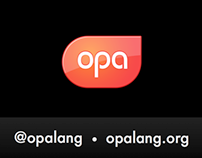 Logo Design for the Opa Technology
