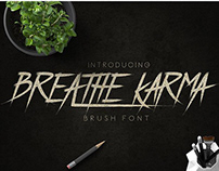 Free Font: Breath Karma