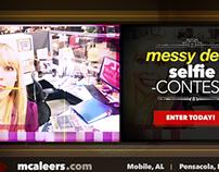 McAleer's Messy Desk Selfie Contest