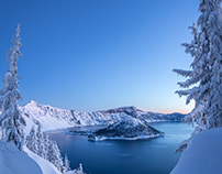 Crater Lake NP Winter