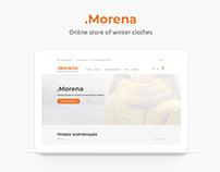 Morena. Интернет магазин зимней одежды.