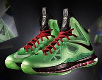 Nike Zoom Lebron X - Cutting Jade