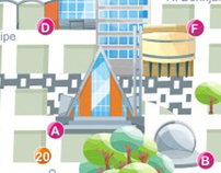 Mapa Turístico de Londrina