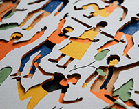 Paper people