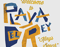 Playa Del Rey - branding, design and magazine article