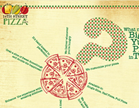 14th street Pizza Co. (Print ads)