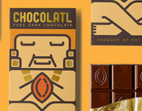 CHOCOLATL pure chocolate concept