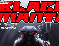 BLACK MANTA concept comic