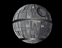 Death Star Moon phase DSF clothing & Art gallery.