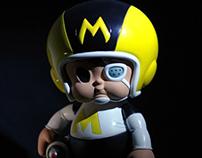 MIX BOY 6 Inch Figure/達陣男孩6吋可動公仔製作