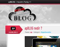 apBLOG 2. Theme + PSD