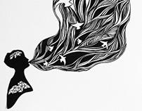 Breathe Me Papercut