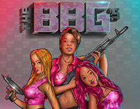 Digital Painting: The BlackBlondeGirls (BBGs)