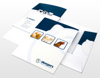 Sleegers Farm Equipment - Corporate identity items