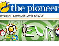 Mastheads For The Pioneer Newspaper