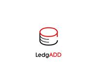 LedgADD Logo #logo #graphic #designer #branding