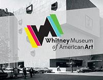 Whitney Museum of American Art: Re-branding