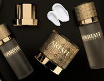 Ariah cosmetics - Branding concept