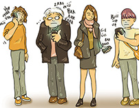"""""""Mayie"""" : série d'illustrations (en cours)"""