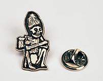 Rogue Dead Guy Pin