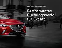 Mazda Motors (Deutschland) GmbH - Buchungsplattform