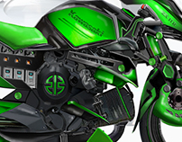 Kawasaki ZX HR Super Hybrid