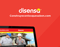 WEB DESIGN. Micrositio Disensa