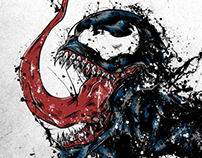fan Art venom Spiderman