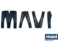 MAVİ - TYPOGRAPHY