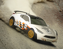 CyDesign Rally Car