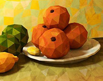 Lowpoly paintings