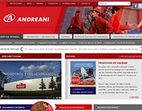 Andreani - sitio web