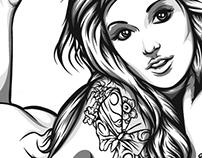 November 14, 2012 Girls illustration