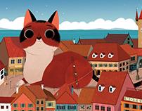 A Cat's Dream // Illustration