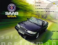 Saab USA Website