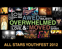 ALL STARS YOUTHFEST Promo Posters